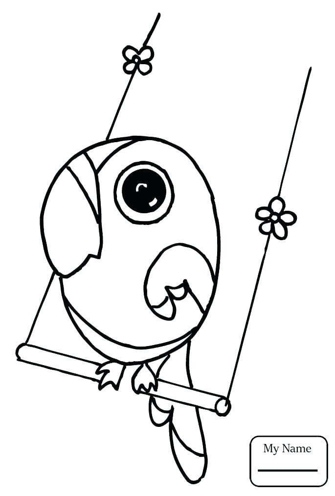 685x1012 Parrot Coloring Pages Coloring Pages Of Parrots Bird Coloring Page