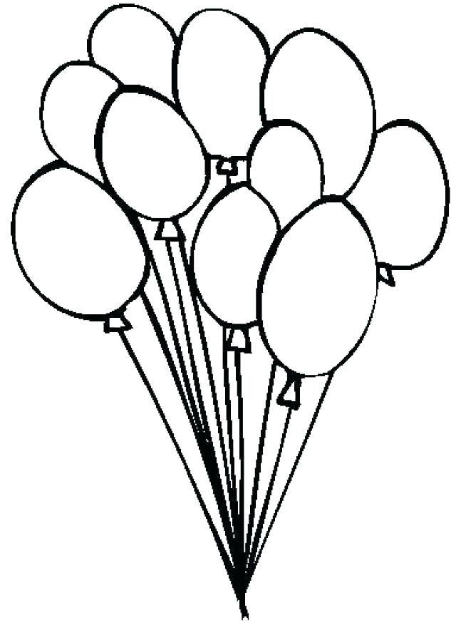 640x877 Balloons Coloring Pages Balloon Coloring Page Coloring Pages