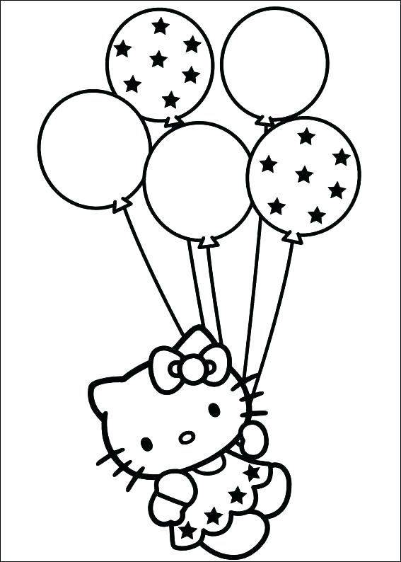567x794 Balloons Coloring Pages Coloring Pages Of Balloons Coloring Pages