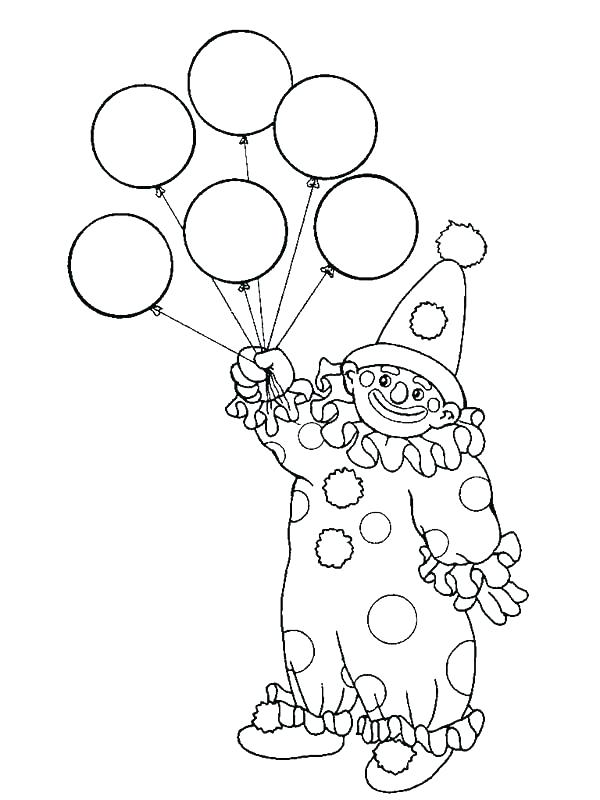 600x800 Balloon Coloring Page Balloon Coloring Pages Balloon Coloring