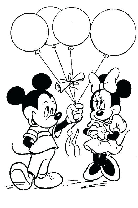 525x791 Balloon Coloring Pages