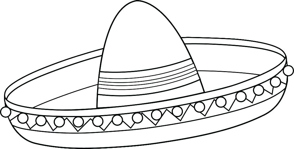 1024x519 Party Hat Coloring Page Party Hat Colouring Page