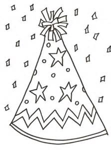 223x300 Printable Birthday Party Hat Coloring Page, Printable Birthday Hat