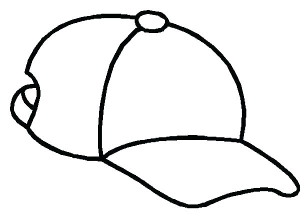 600x428 Winter Hat Coloring Pages Party Hat Coloring Page Hats Coloring