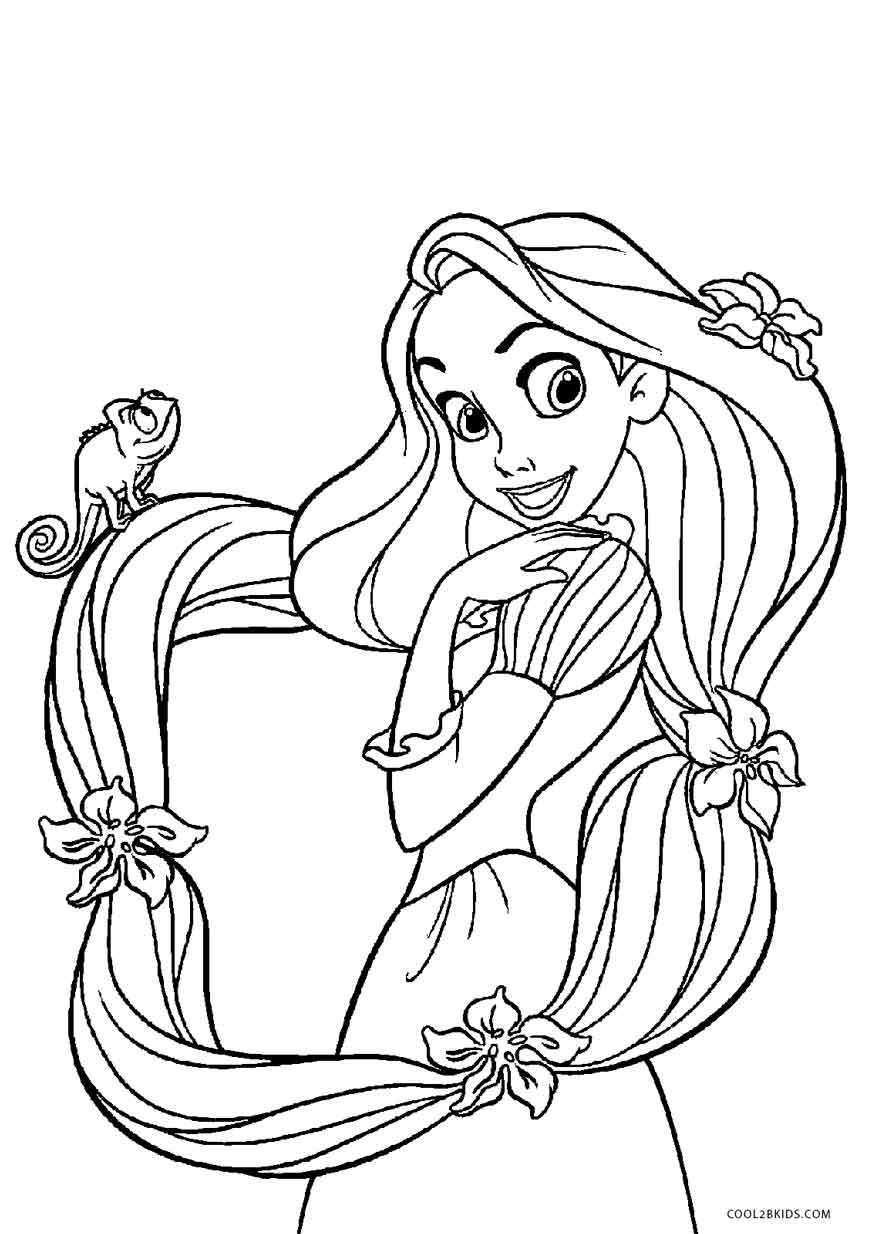872x1234 free printable tangled coloring pages for kids