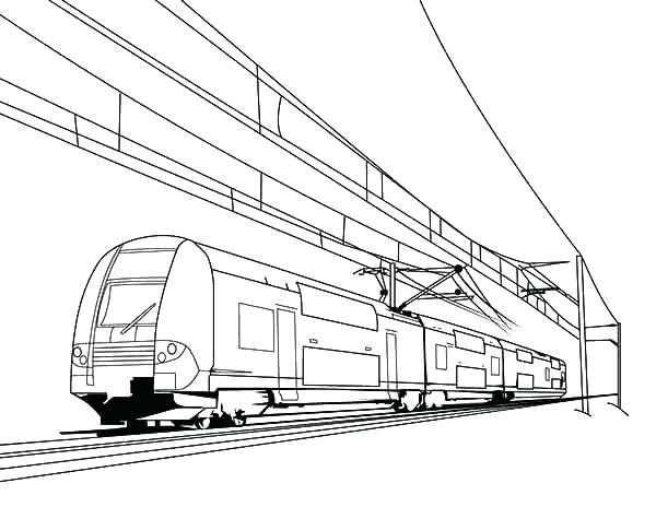 600x464 Inspiring Train Coloring Pages To Print Coloring Pages Train