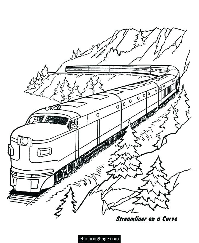 670x820 Inspiring Train Coloring Pages To Print Inspiring Train Coloring