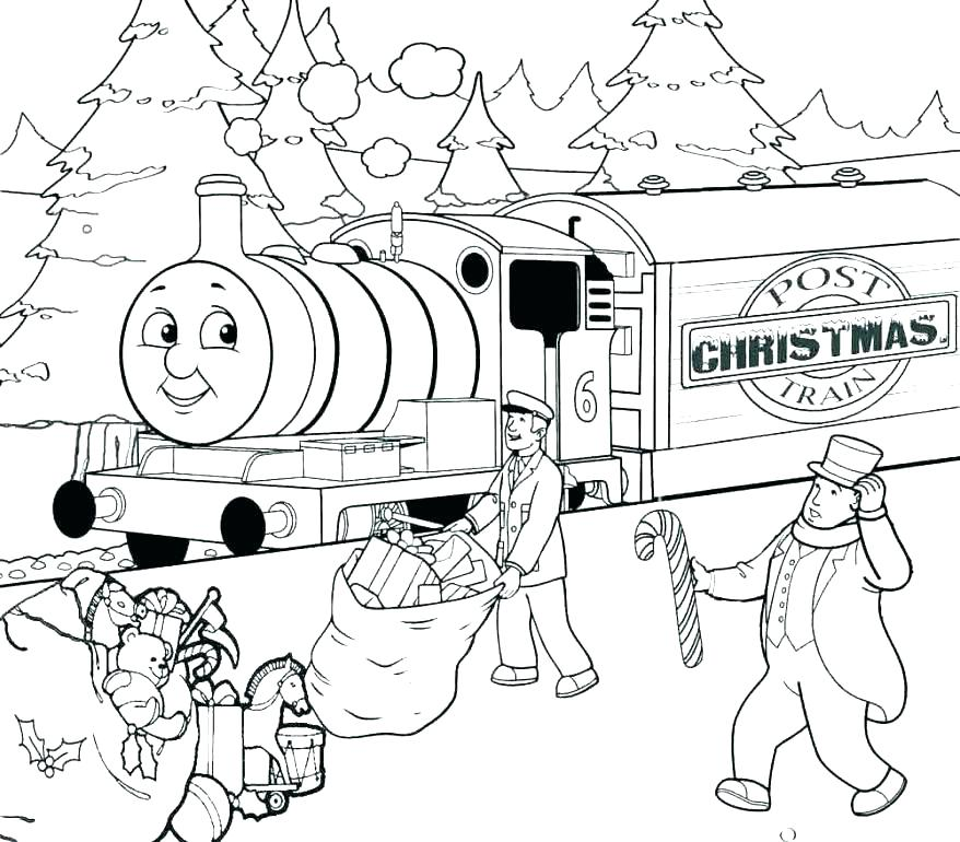 878x770 Passenger Train Coloring Pages Printable Printable Coloring Best