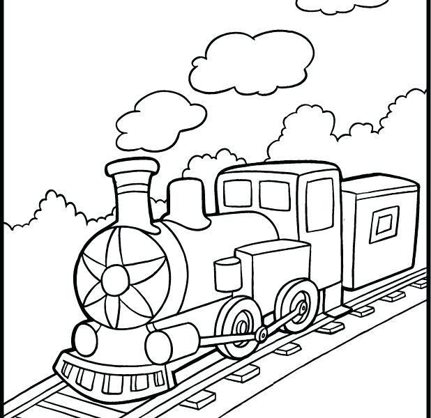 618x600 Train Coloring Pages Printable Printable Train Coloring Pages