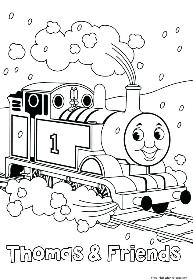 633x912 Train Coloring Pages Printable