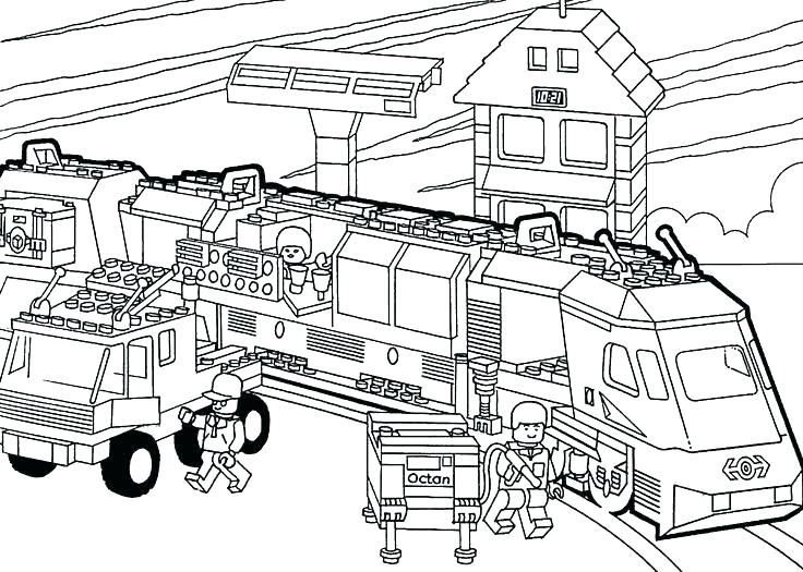 736x525 Coloring Pages Train Free Printable The Train Coloring Pages Train