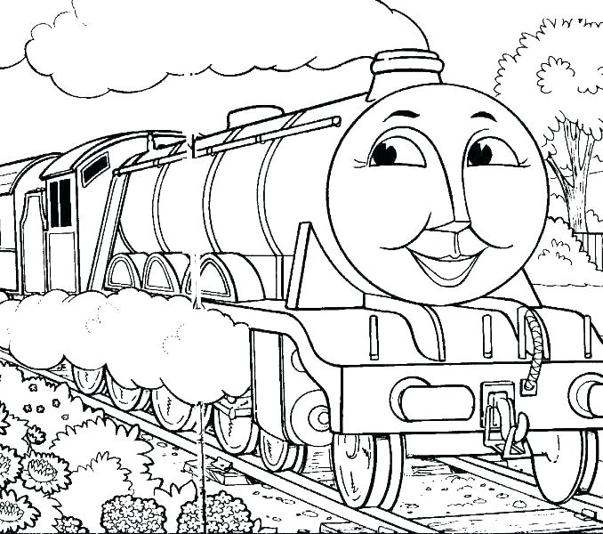 678x600 Coloring Pages Train Train Coloring Pages Free Printable For Kids