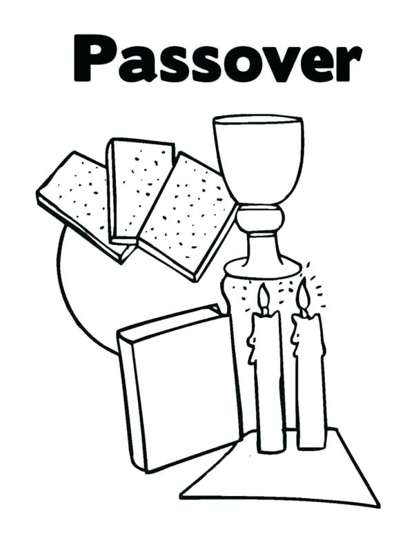 600x776 Passover Coloring Page Best Activities Kids Images