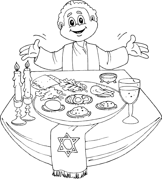 541x600 Passover Printable Coloring Pages