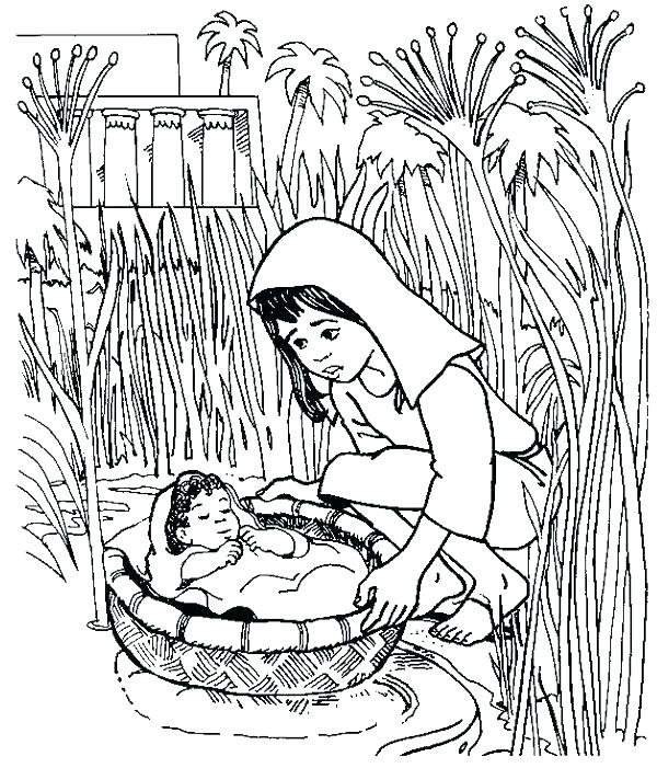 600x701 Passover Coloring Pages