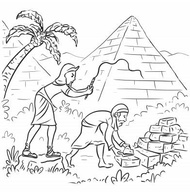 Passover Story Coloring Pages