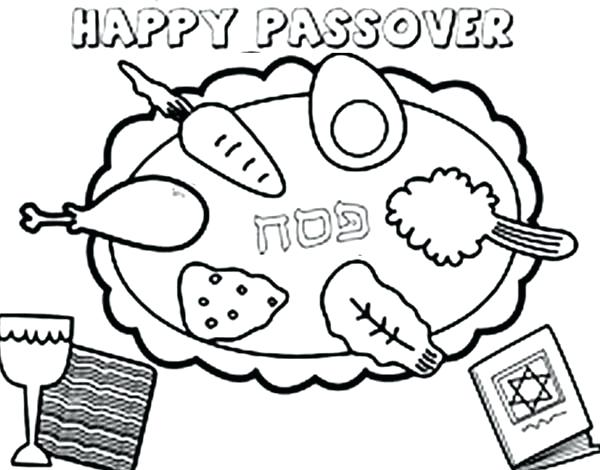 600x470 Passover Coloring Pages As Cool Passover Coloring Page Passover