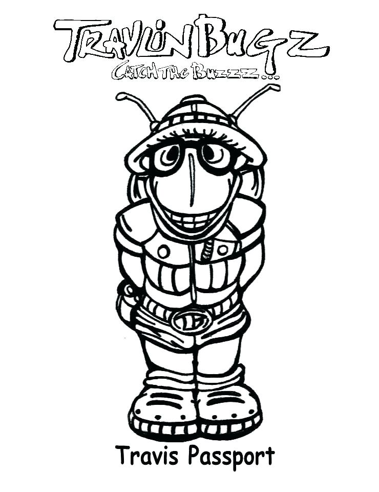 740x960 Passport Coloring Page Related Content Passport Printable Coloring