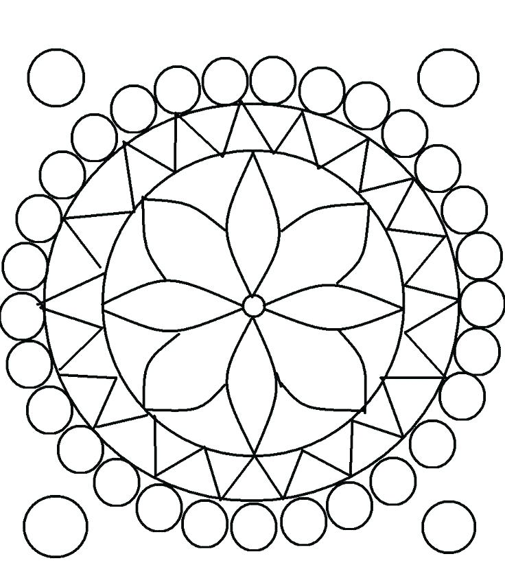 736x855 Rangoli Coloring Pages Designs Coloring Pages Patterns Coloring