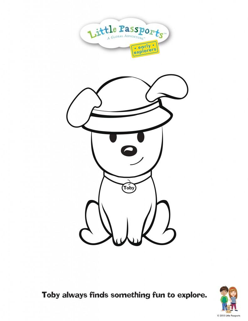 791x1024 Passport Coloring Page Free Sheets For Kids Arilitv Passport