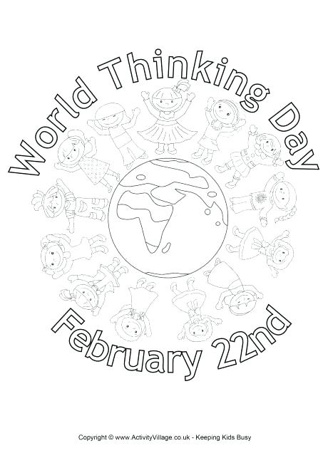 460x650 Passport Coloring Page