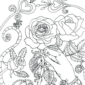 354x354 Goth Coloring Pages Pastel Goth Coloring Pages