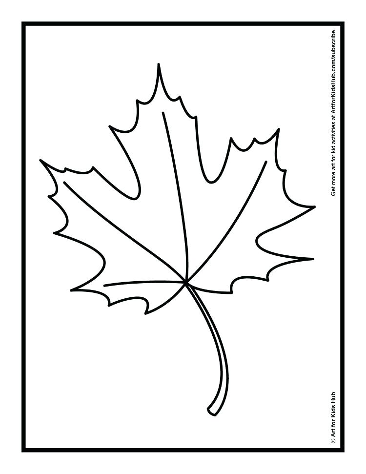 750x971 Autumn Leaf Coloring Pages Leaf Coloring Watch Coloring An Autumn
