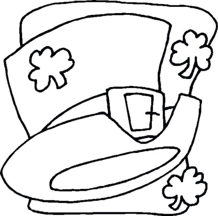 695x690 Patrick Para Colorear St Para St S Day Coloring Pages Printable