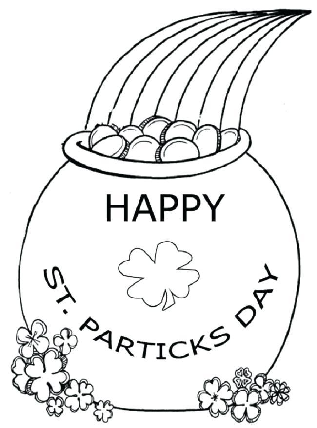 650x879 St Patrick Para Colorear Day Coloring Pages Printable Para Dibujos