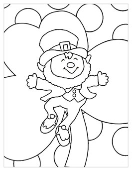 265x343 St Patrick's Day Coloring Pages Hallmark Ideas Inspiration