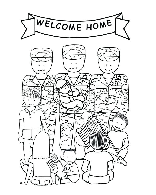 600x750 Patriot Day Coloring Pages Welcome Home Soldiers The Patriot Day