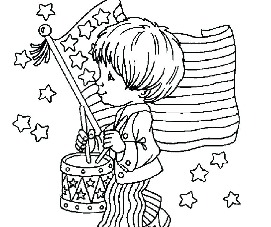918x768 Awesome Patriotic Coloring Pages Kids Photos Patriotic Coloring