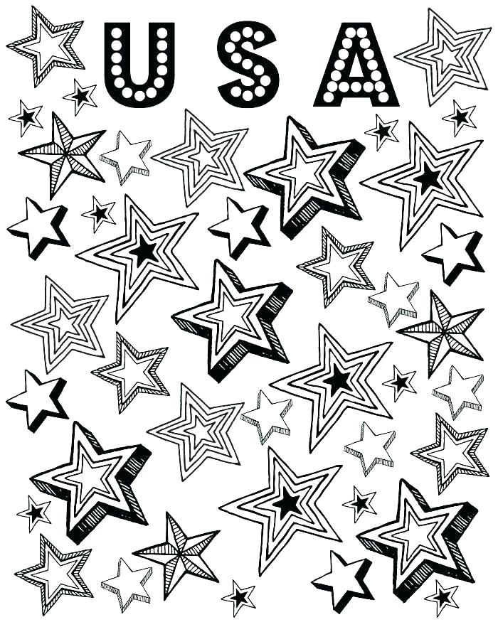 700x875 Coloring Page Of Stars