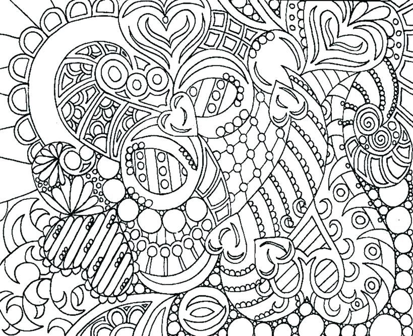 819x666 Cool Pictures To Color For Adults Cool Coloring Pages Printable