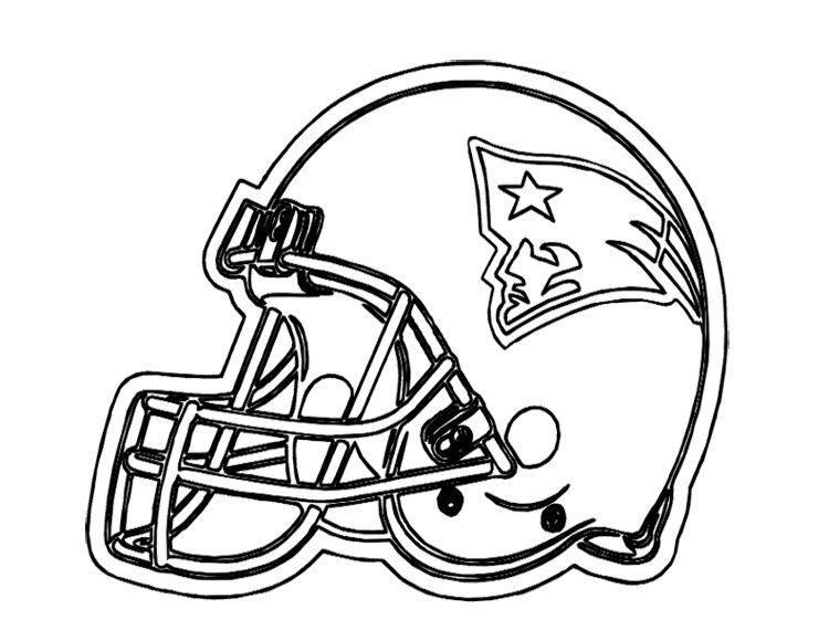 750x580 Football Helmet Coloring Pages Football Helmet Patriots New