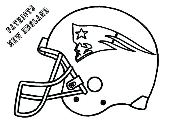 600x464 Coloring Pages Football Teams Helmets Coloring Pages Football
