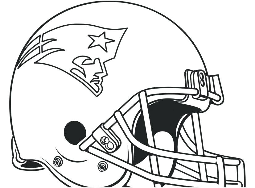 827x609 Football Helmet Coloring Pages Here Are Is A Printable Patriots