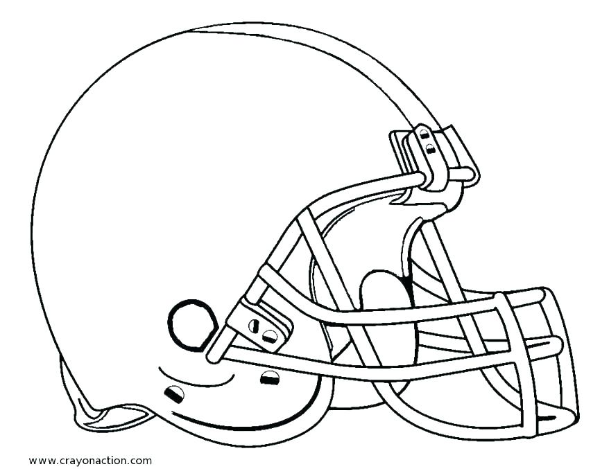878x677 Football Helmet Coloring Page Icontent