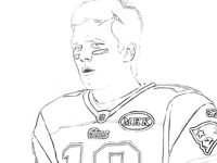200x150 New England Patriots Coloring Pages Cbs Boston