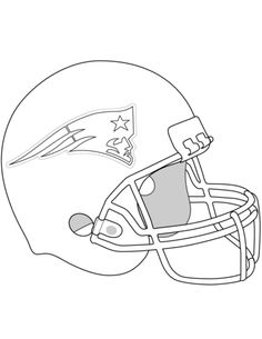 236x305 New England Patriots Logo Coloring Page From Nfl Category Select
