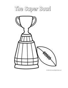 236x305 Super Bowl Trophy Coloring Pages Super Bowl Trophy Coloring