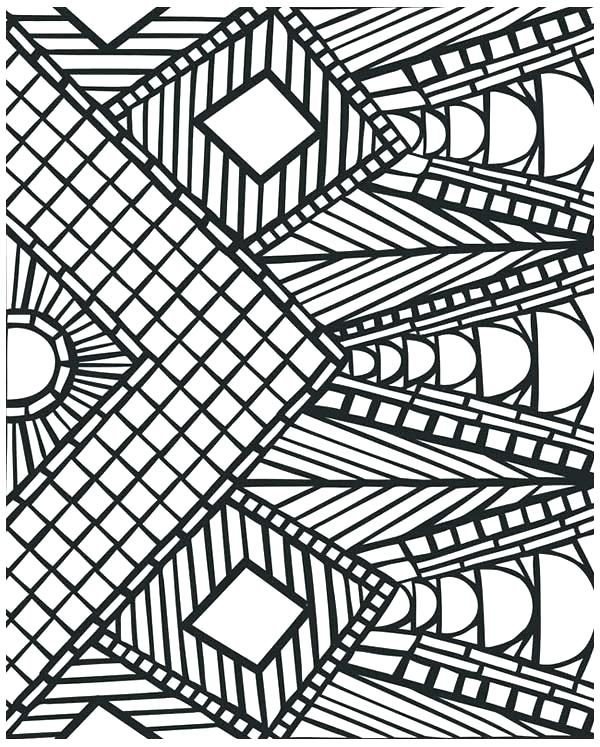 600x747 Printable Pattern Coloring Pages Flower Pattern Coloring Pages