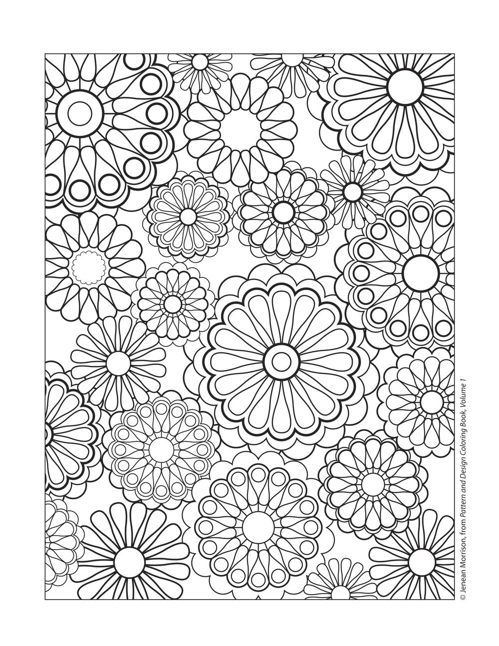 1000x1294 Cool Design Patterns Coloring Pages Free Coloring Pages