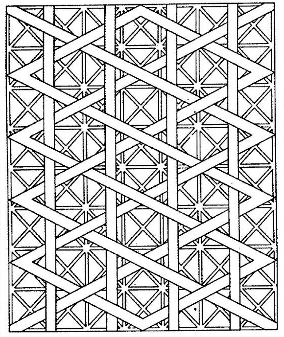 580x689 Free Printable Coloring Pages For Adults! Geometric Patterns