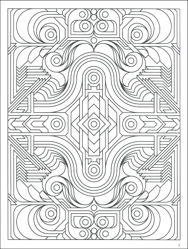 600x794 Pattern Coloring Pages For Adults Coloring Design Pages Printable