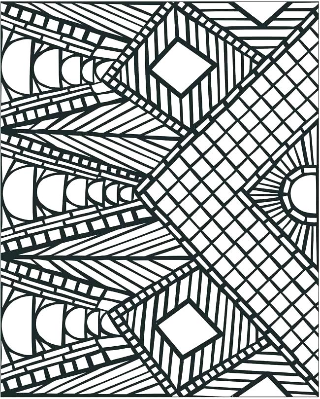 650x809 Pattern Coloring Pages Stuff To Color For Adults Best Coloring