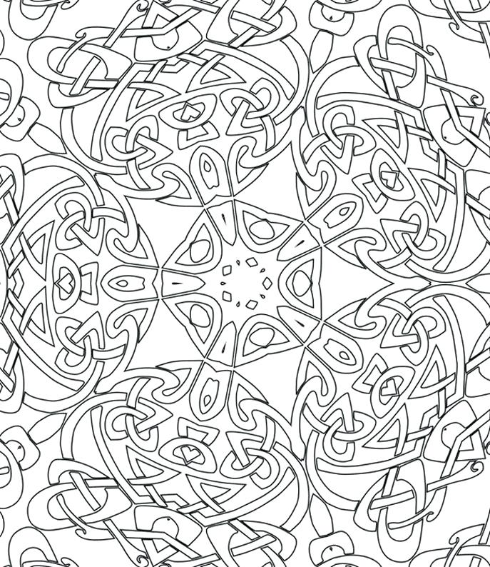 687x794 Pattern Coloring Pages To Print Design Coloring Pages To Print