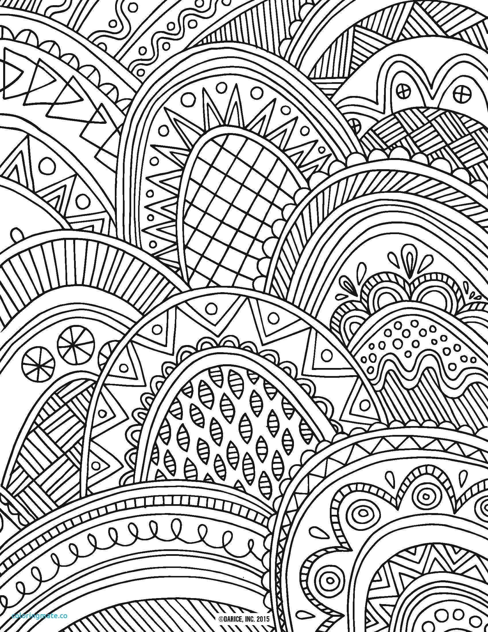 1700x2200 Printable Detailed Pattern Coloring Pages Free