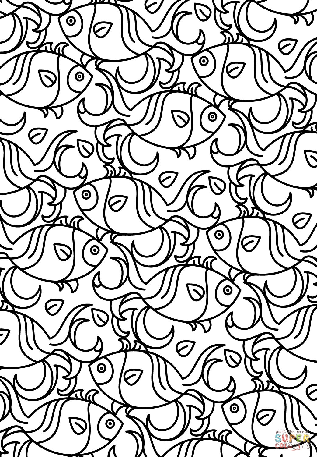 1042x1500 Printable Pattern Coloring Pages High Definition