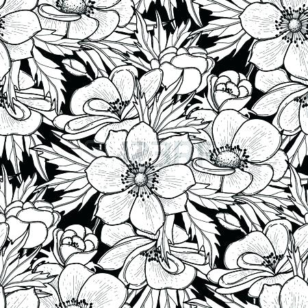 450x450 Cool Pattern Coloring Pages Amazing Flower Pattern Coloring Pages
